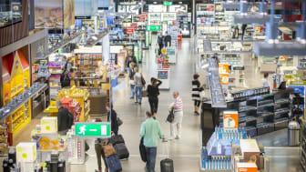 Resandet fortsätter öka på Arlanda
