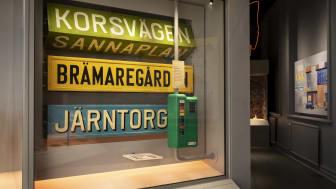 Biljettautomaten i Grejen med Göteborg