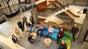 Bilden visar Näringslivsrådet i Vänersborg och är tagen tidigare. Mötet i måndags hölls digitalt.