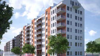 Gamlestaden, Brf Makrillen - 137 bostadsrättslägenheter