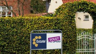 Salgstiderne på alle boligtyper fortsætter med at falde i 2021. Estate gør status og kigger fremad.