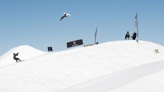Torgeir Bergrem vant gull i slopestyle under fjorårets NM i Trysil. Foto: Ola Matsson