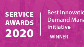 MEABC has been named the winner in the Best Innovation/ Demand Management Initiative category of the APSE Service Awards