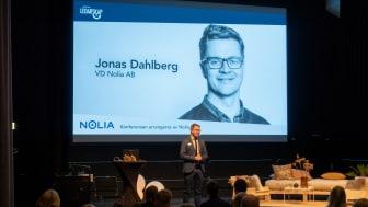 Nolias vd kommer att hälsa välkommen då Nolia Ledarskap genomförs digitalt