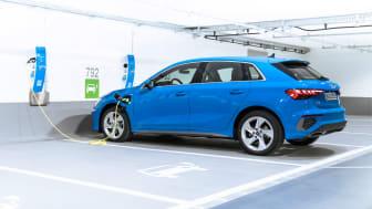 Ny Audi A3 nu som plug-in-hybrid