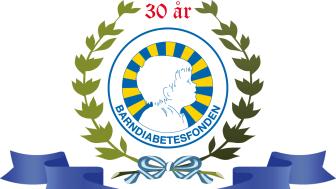 Barndiabetesfonden 30arslogga_outline