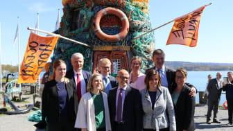 Nordiske ministre samlet i kampen mot plastsøppel