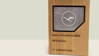 Lufthansa Cargo Award of Excellence 2020