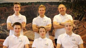 Juniorlandslaget i karting för 2014 uttaget