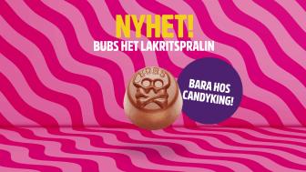 CandyKing lanserar två produktnyheter exklusivt med BUBS Godis