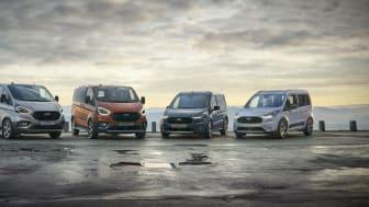 A Ford továbbra is első helyen Európa haszonjármű piacán