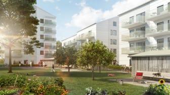 120 högkvalitativa lägenheter i Lidköping klara för invigning