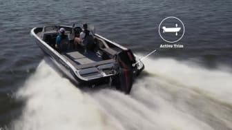 Active Trim inkl i Mercury påhængsmotor fra 175 hk