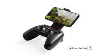 The Nimbus+ Wireless Controller builds on the foundation of the critically acclaimed original Nimbus Wireless Controller to bring greater performance and control to gaming on Apple devices