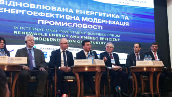 New green investment initiative in Ukraine