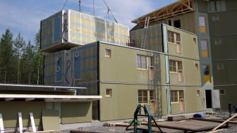 Byggnader i kallt klimat ska bli energieffektiva