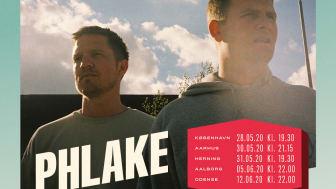 Albumaktuelle Phlake melder klar til Drive In - LIVE touren