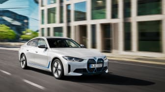 Elektrisk kjøreglede med erketypisk BMW-karakter: Helt nye BMW i4 eDrive40 og BMW i4 M50