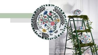 """Die Dekore der Rosenthal-Kollektion """"Magic Garden"""" zeigen die Entwicklung vom Samen bis zur Blüte."""
