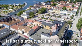 Tillväxtverket ger medel för hållbar platsutveckling till Vänersborgs kommun och Stiftelsen Tryggare Sverige