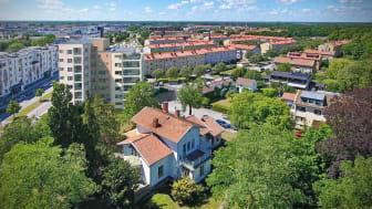 Riksbyggens seniorbostäder i Bonum Brf Cavallo vänder sig till hushåll där minst en person fyllt 55 år.
