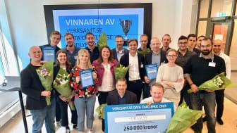 En ny rekryteringstjänst för små och medelstora företag är vinnare i Verksamt.se Data Challenge. Priset delades ut på tisdagen av Tillväxtverkets generaldirektör Gunilla Nordlöf.