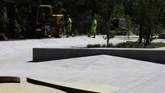 Invigning av Kanalparken och Streetplazan i Kristianstad. Välkommen på lördag 5 juli kl. 18.00