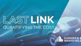 Sista kilometern i e-handelstransportkedjan ofta står för 50 procent eller mer av den totala logistikkostnaden, där hyreskostnader utgör i genomsnitt 4,3 procent.