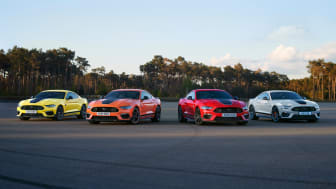 Ford Mustang Mach 1 er klar for utlevering i Europa