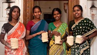 Finja stödjer byprojekt i Indien