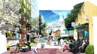Malmö kvitterar god bostadsplanering i Hyllie