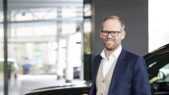 Espen Dalby Johansen (38) blir Norgessjef for BYTON i Hedin Automotive