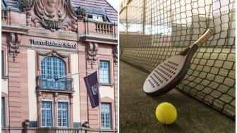 Thoren Business School i Uppsala startar padelinriktning till hösten. - Vi är måna om att detta ska vara tillgängligt för alla, säger idrottsläraren Tony Kjäll.