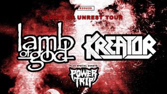 Lamb of God + Kreator + Power Trip