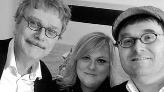 Anders, Benjamin og Marie Carmen Koppel i musikalsk familietræf