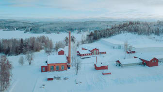 High Coast Distillery i vinterskrud