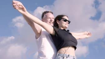 Bahareh Letnes og Per Sandberg_Charterfeber_2019_FotoTV3