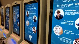 Den digitala smittskyddskiosken Procon DigiClean är redo för lansering