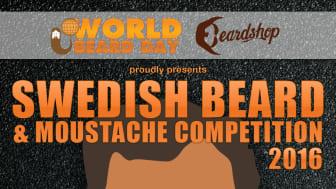 Första nationella skäggtävlingen i fem klasser med internationell bedömning, avgörs på World Beard Day.