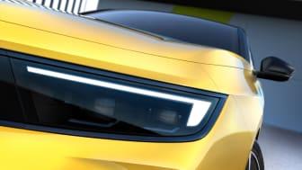 Opel presenterar de första bilderna på nya Opel Astra