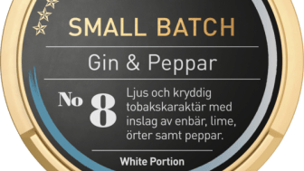 Gin & Peppar – Ny Small Batch lanseras