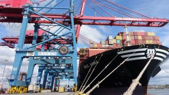 APM Terminals i Göteborg summerar årets första kvartal med en marknadsandel på 44 %.