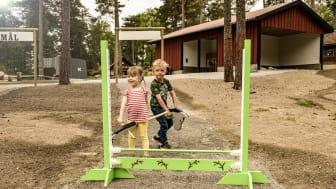 En helt ny käpphästbana öppnar på Kolmården lördagen den 6 juni