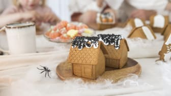 _Gille Mini Pepparkakshus och Figurer inspiration halloween
