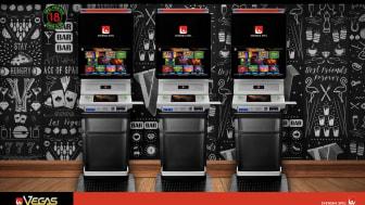 Den nya generationen Vegasautomater innehåller ett stort antal spelansvarstjänster. Bland annat måste den som vill spela registrera sig och sätta spelgränser i tid och pengar innan spelet kan påbörjas.