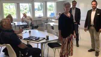 Några uppgivna Sunnebor tog kontakt med Gunilla Ingemyr(C), kommunstyrelsens ordförande i Sunne. Hon initierade ett möte där bl a Värmlands landshövding Georg Andrén deltog samt Tobias Eriksson (S), kommunstyrelsens 1:e vice ordförande i Sunne.