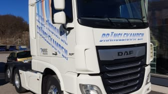 DAF XF 480 FTR - En av lastbilarna som kommer att duellera i Bränslekampen