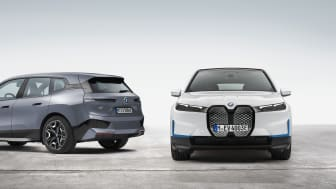 Dobbel dose elektrisk kjøreglede: Helt nye BMW iX xDrive40 og BMW iX xDrive50