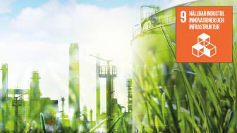 Globalt mål 9: Hållbar industri, innovationer och infrastruktur