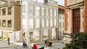 Digital Inn flyttar in i nybyggda lokaler i S:t Paul på Götgatsbacken i Stockholm